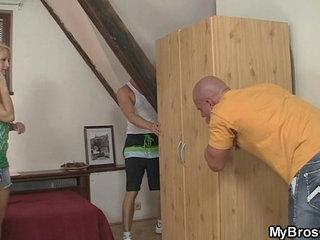European blonde jumps at his cock as her BF gone | blondecockeuropean