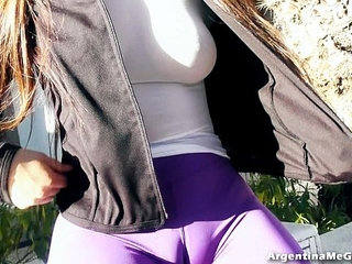 The BEST ASS and CAMELTOE in Ultra Tight Pants In Public! | asscameltoepublictight