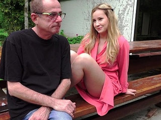 Young Russian Blonde Lick the Ass of an Old Bone | assblondelickingolderrussianyoung