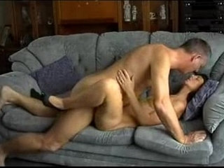 Father in law and daughter in law fuck in sofa | daughtersofastepdad