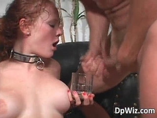 Audrey Hollander gets double fucked | double