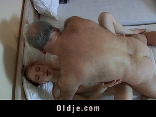 Old pervert man fucked by a horny young maid | hornymaidold manpervertsyoung