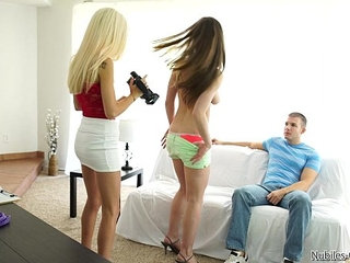 Porn audition leads to hot threesome   3someauditionwild