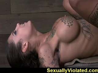 Bonnie drooling gagging and cumming | gagging