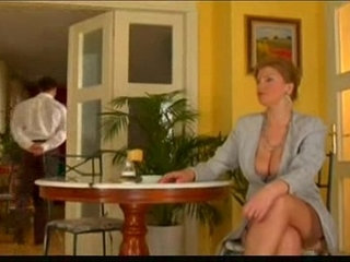 First class mature lady fucked by lucky waiter | first timeladymature